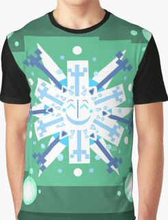Snowflake Sunburst Graphic T-Shirt