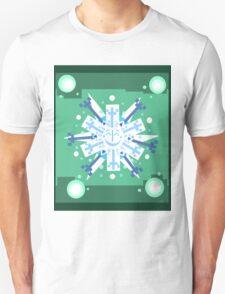 Snowflake Sunburst Unisex T-Shirt