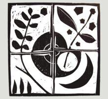 Equilibrium Tee by Gudrun Eckleben
