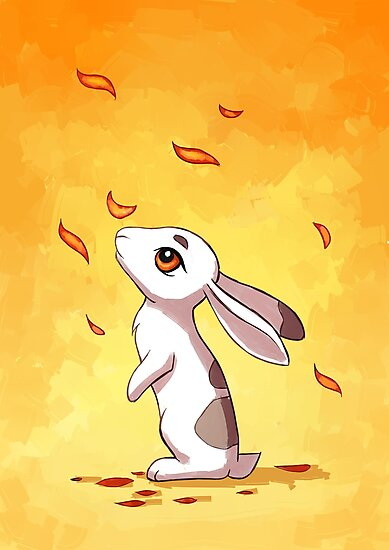 Autumn Hare by freeminds