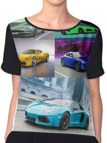 sports cars Chiffon Top