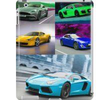 sports cars iPad Case/Skin