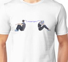 Feeling Blue - Missing You Unisex T-Shirt