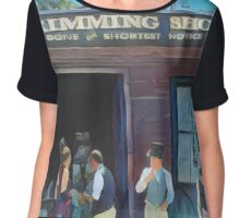 Time Travellers I Chiffon Top