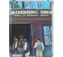 Time Travellers I iPad Case/Skin