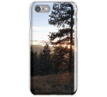 Woodsy Sunset iPhone Case/Skin