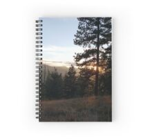 Woodsy Sunset Spiral Notebook