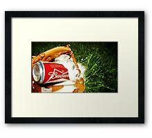 Budweiser Beer Framed Print