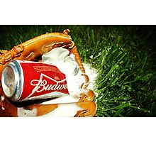 Budweiser Beer Photographic Print
