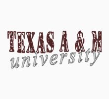 Texas A & M University Kids Tee