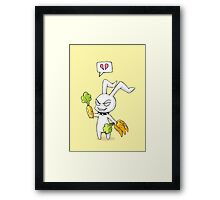 Eat Your Veggies Framed Print