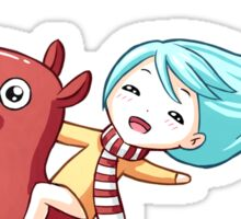 Pony Ride Sticker