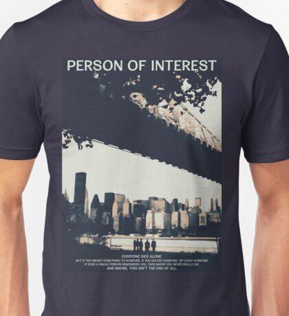 Person of Interest Unisex T-Shirt