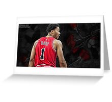 Derrick Rose - Among Thorns Greeting Card