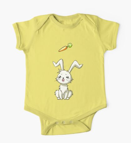Bunny Carrot One Piece - Short Sleeve
