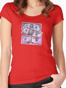 Money Women's Fitted Scoop T-Shirt