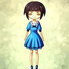 Girl in Blue by freeminds