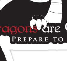 Game of Thrones - Dragons are Coming Sticker