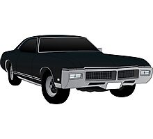 1968 Riviera GS Photographic Print