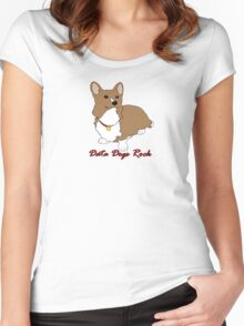 Cowboy Bebop - Data Dogs Rock Women's Fitted Scoop T-Shirt