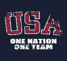 USA One Team Kids Tee