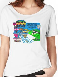Psychedelic Hot Air  Women's Relaxed Fit T-Shirt