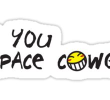 Cowboy Bebop - See You Space Cowgirl Sticker