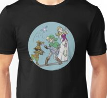Zelda and Link - The Hyrule Band Unisex T-Shirt