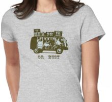 Memphis Or Bust! Womens Fitted T-Shirt