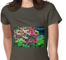 Garden party.... Womens Fitted T-Shirt