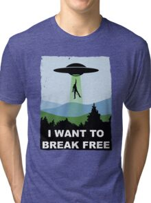 I Want to Break Free - Freddie Returns to Mercury Tri-blend T-Shirt