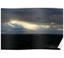 Dramatic Sunset Sky Poster
