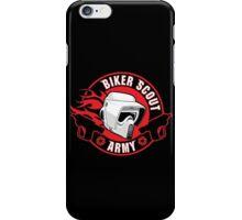 BIKER SCOUT ARMY iPhone Case/Skin