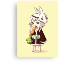 Bunny Mask Canvas Print