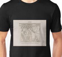 0017 Aethiopen Begerauîeh Begrawiya Pyramidengruppe A Pyr 10 Nordwand westlicher Theil Unisex T-Shirt
