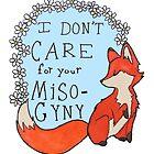 Feminist Fox by tamaghosti