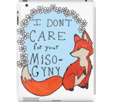 Feminist Fox iPad Case/Skin