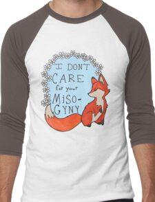Feminist Fox Men's Baseball ¾ T-Shirt