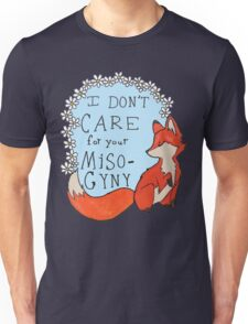 Feminist Fox Unisex T-Shirt