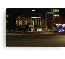 Edmonton, Alberta, Canada - Churchill Square Canvas Print