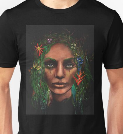 "One With Nature ""Rainforest"" Unisex T-Shirt"