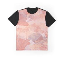 Summer Pink Watercolor Graphic T-Shirt