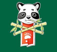 Panda Banner Womens Fitted T-Shirt