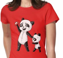 Panda Brothers Womens Fitted T-Shirt