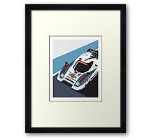 Lancia LC2 Martini Racing Team Framed Print