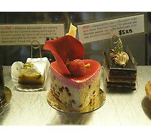 Oooh la la Dessert Photographic Print