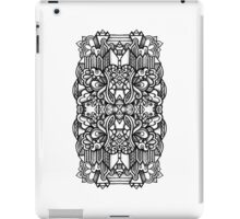 SYMMETRY - Design 006 (B/W) iPad Case/Skin