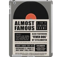 Almost Famous film poster iPad Case/Skin