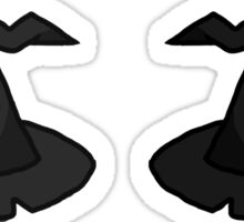 witchy hats Sticker