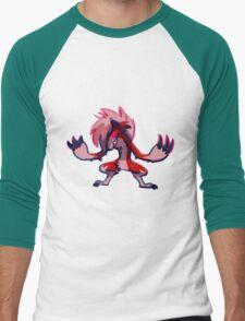 midnight lycanroc Men's Baseball ¾ T-Shirt